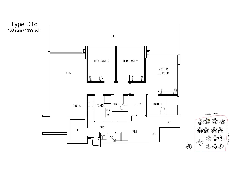 3 bedroom s a treasure trove penthouse a treasure trove p4 floor plan a treasure trove